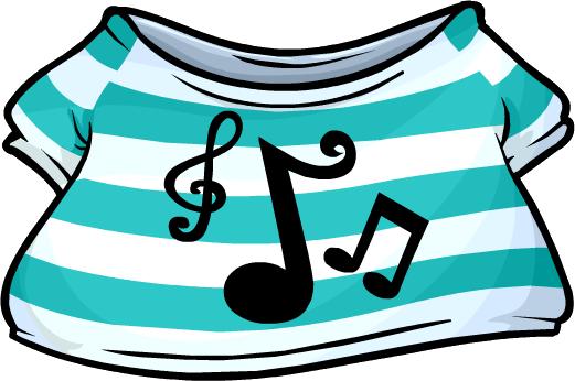 Camiseta Musical Aguamarina
