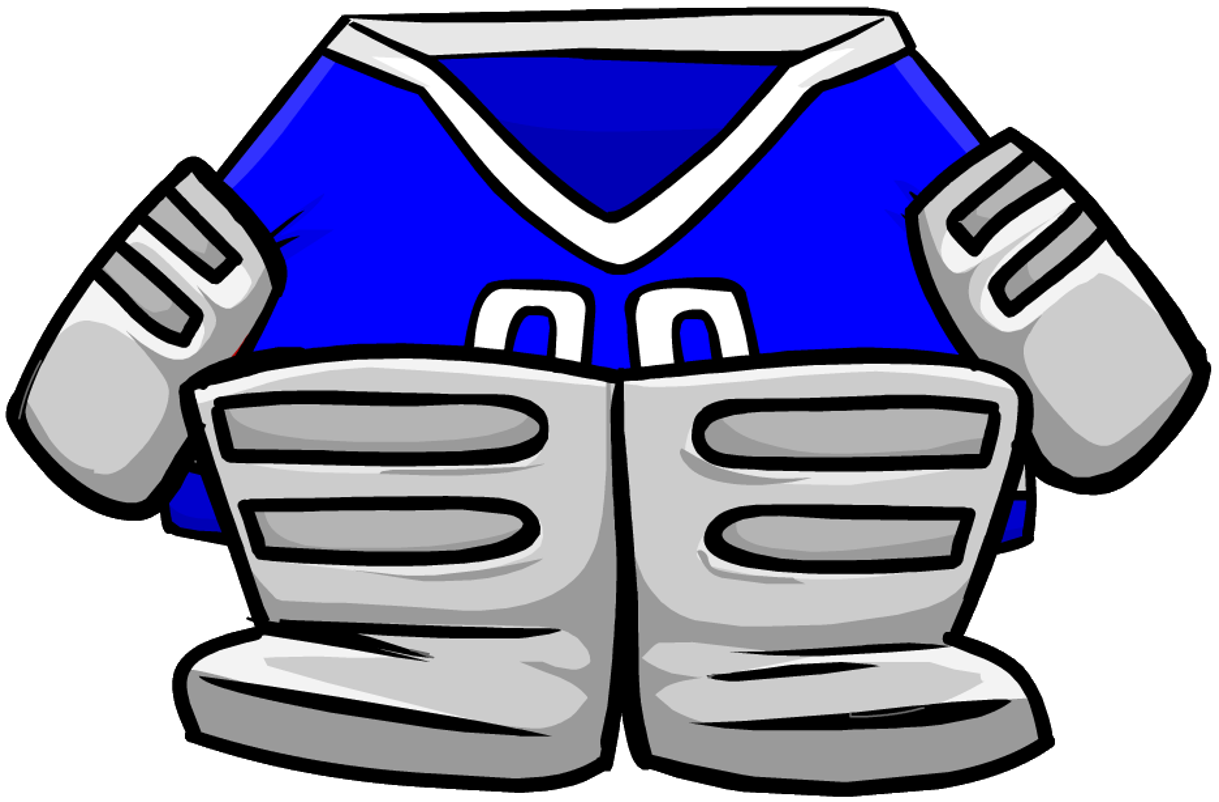 Blue Goalie Gear