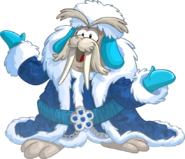 Merry Walrus Party Login Screen Merry Walrus