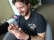 Goodtea playing CP on iPod