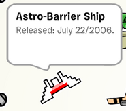 AstroBarrierShipPinStampbook