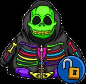 Cangurito Esqueleto de Neón
