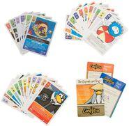 Card-Jitsu TCG puffle deck contents