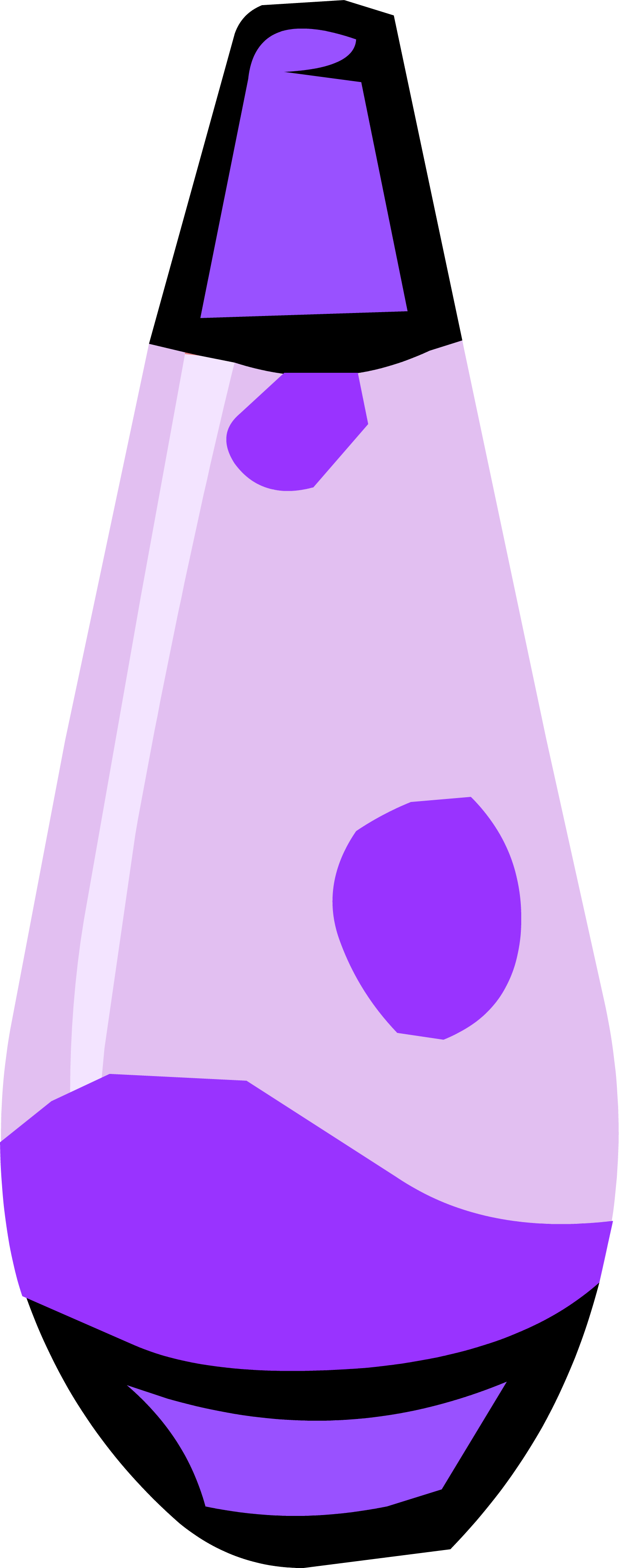 Purple Lava Lamp