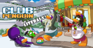 To club a penguin.