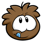 Brown Puffle Pin icon.png