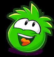 Green PuffleLookingUp2
