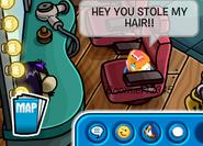 Hey u stole my hair