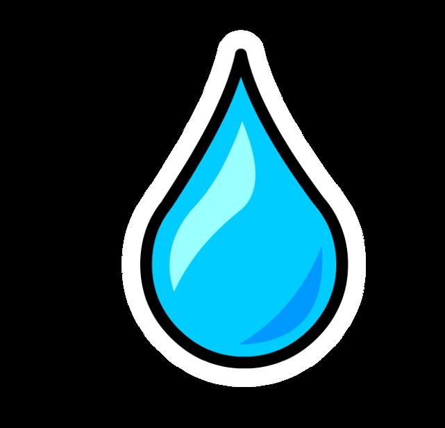 Pin de Gota de Agua