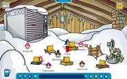 Festival of Snow Lodge Attic