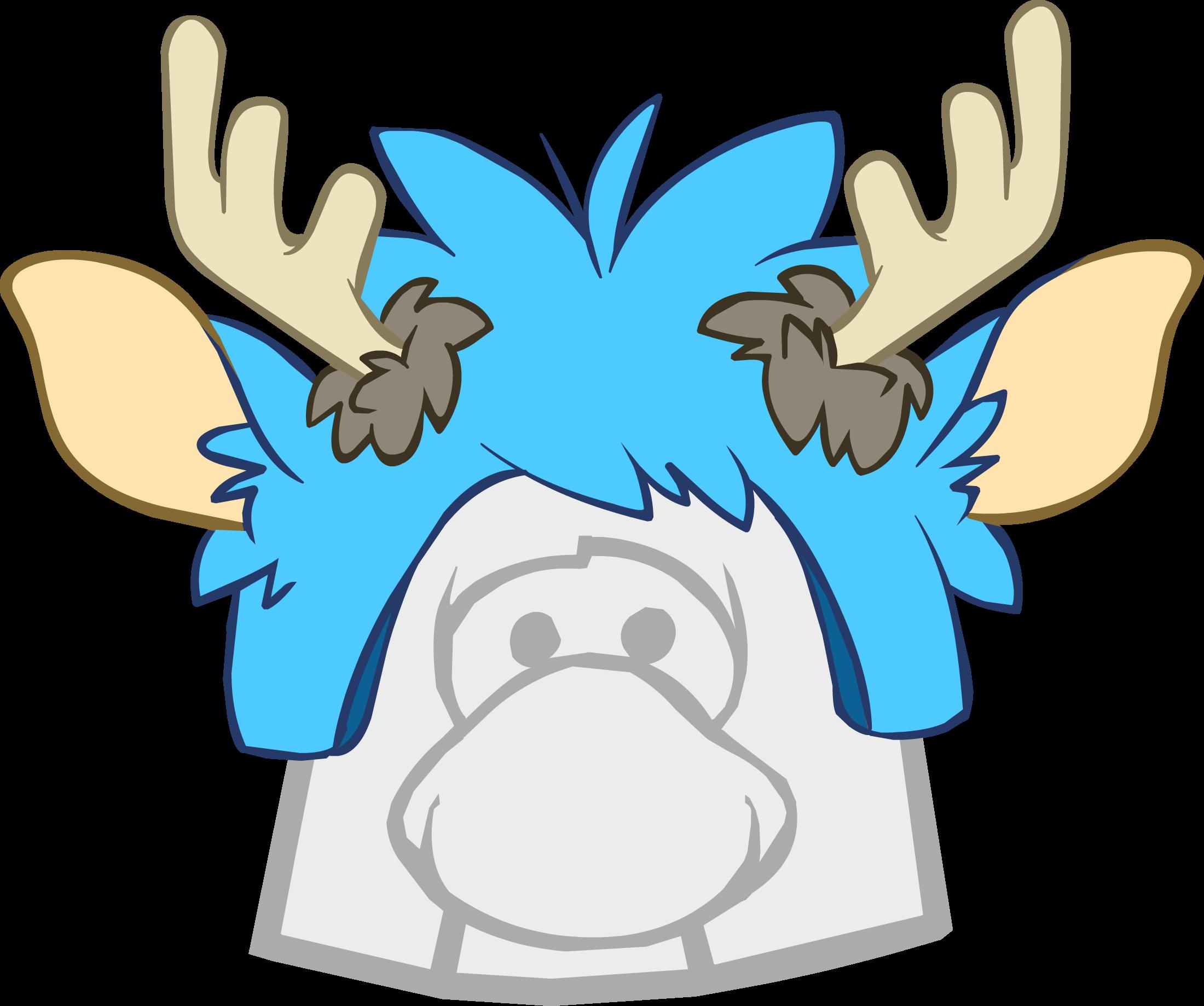 Gorro de Puffle Ciervo