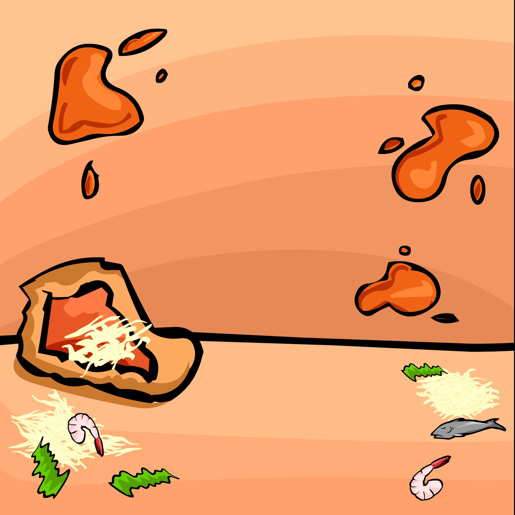 Fondo Explosión de Pizzas