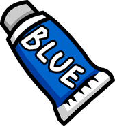 IBlue Face Paint