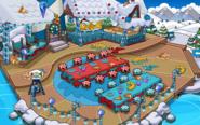 Merry Walrus Party Beach