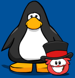 Top Hat Puffle Item Player Card