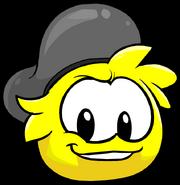 Yellow PuffleBeret2