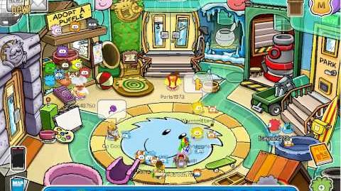 Club Penguin - Puffle Party 2014