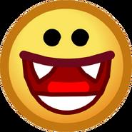 Halloween 2013 Emoticons Vampire Smile