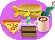 Island Live sale food