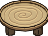 Wood Ring Table