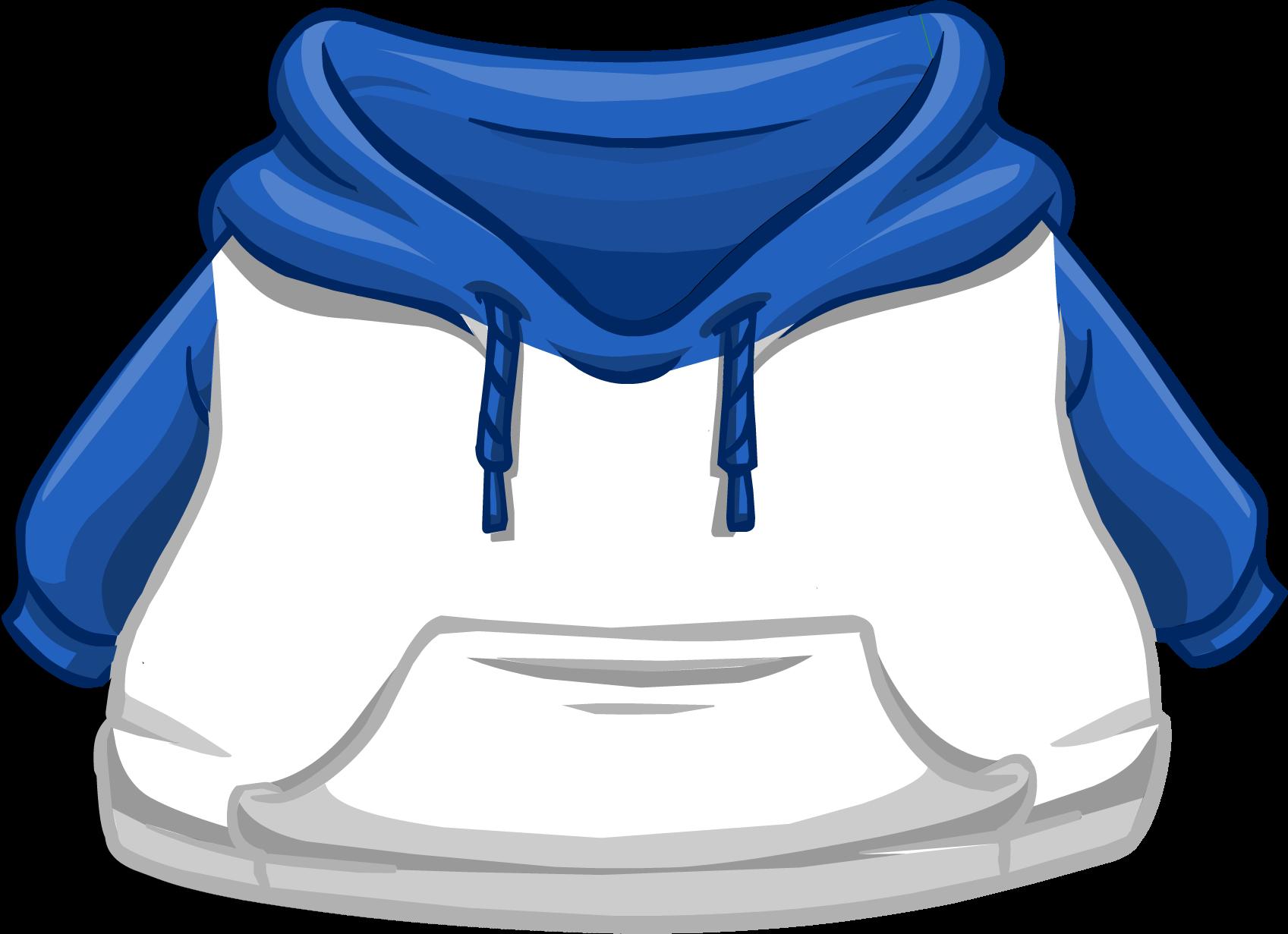 Cangurito Dos Tonos Azul y Blanco