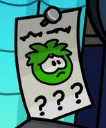 Missing Greenpuffle
