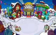 Puffle Party 2012 Town