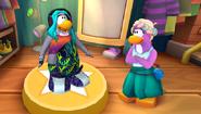 Dot con Pingüina en Diseñador