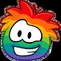 Emoticons Rainbow Puffle