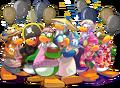 Famosos 10mo aniversario