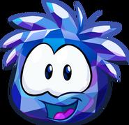 Puffle Cristal Azul Pantalla de Inicio