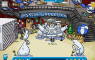 Snow Lighthouse