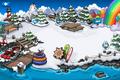 Rainbow Puffle Party Dock