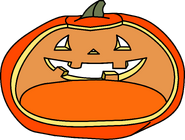 Jack O' Lantern igloo icon ID 20