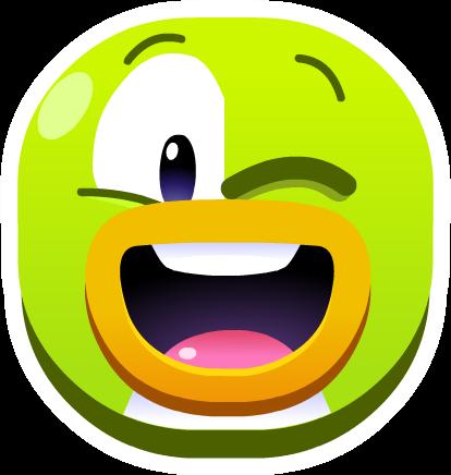Pin de Emoji Guiño