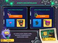 Interfaz fiesta de noche de brujas 2015 app2