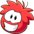 Puffle 2014 Transformation Player Card Red