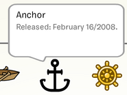 Anchor Pin in Stampbook