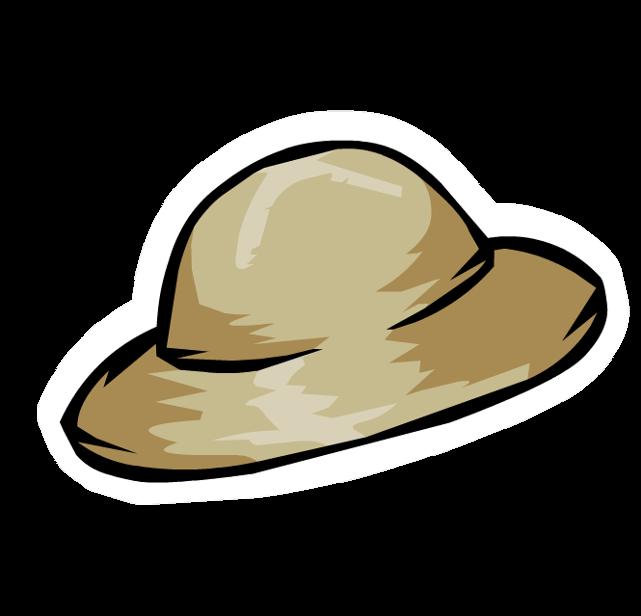 Pin de Sombrero de Safari