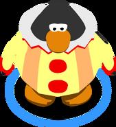 Clown Costume in-game
