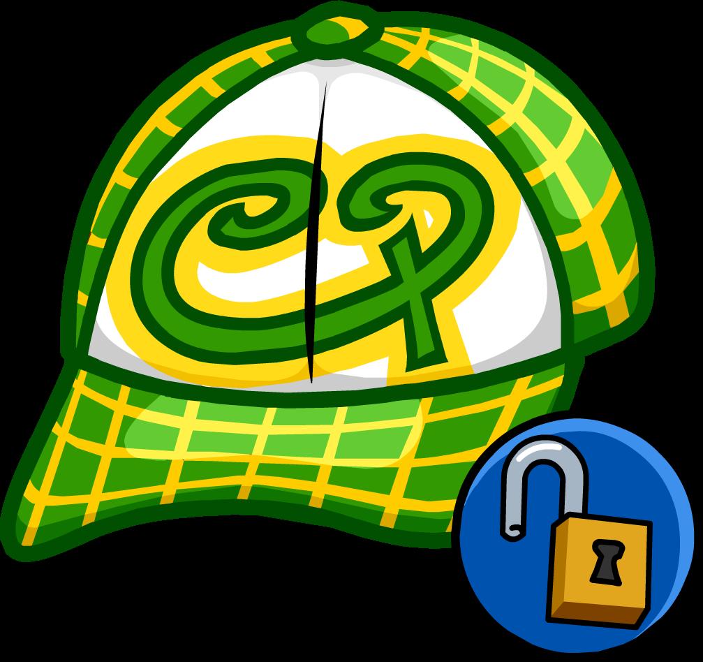 Gorra de Skater Verde