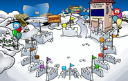 Puffle Party 2012 Snow Forts