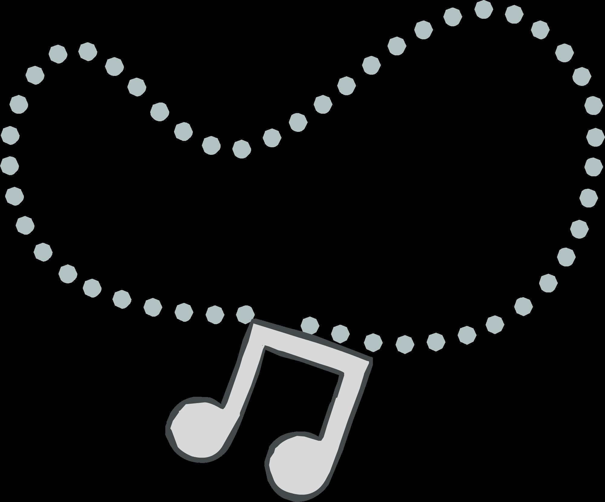 Colgante con Nota Musical