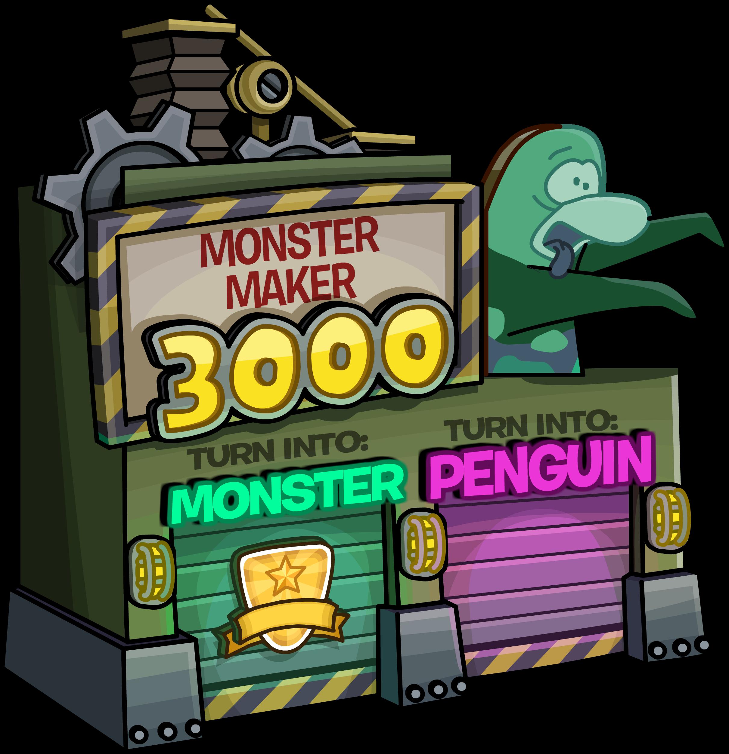 Monster Maker 3000