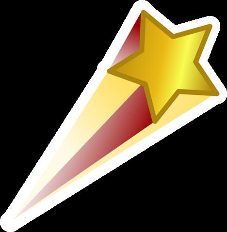 Pin de Estrella Fugaz