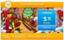 Paquete Bonus de la Fiesta de Navidad