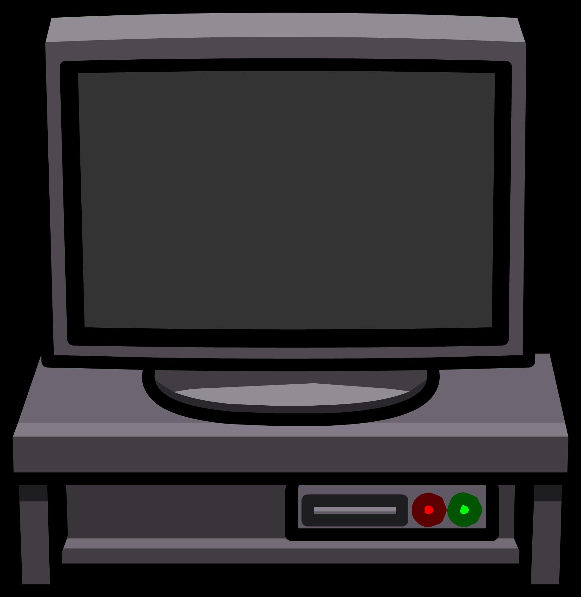 Mesa de TV Negra
