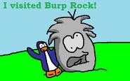 Burp Rock Postcard
