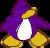 Doodle Dimension penguin Dark Purple