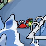 Klutzy in Water Party 2008.png
